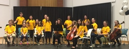 Trinity Strings Perform Ashokan Farewell