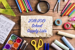 School Supply Lists (Lower, Middle, Upper)